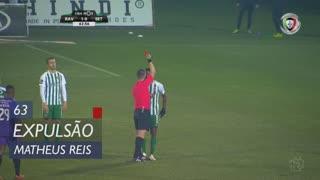 Rio Ave FC, Expulsão, Matheus Reis aos 63'