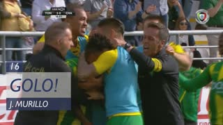 GOLO! CD Tondela, J. Murillo aos 16', CD Tondela 3-0 GD Chaves