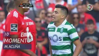 Sporting CP, Jogada, M. Acuña aos 10'