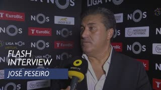 Liga (4ª): Flash interview José Peseiro