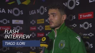 Liga (22ª): Flash Interview Tiago Ilori