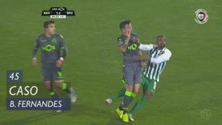 Sporting CP, Caso, Bruno Fernandes aos 45'
