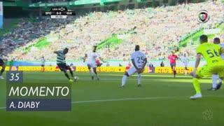 Sporting CP, Jogada, A. Diaby aos 35'