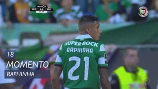 Sporting CP, Jogada, Raphinha aos 18'