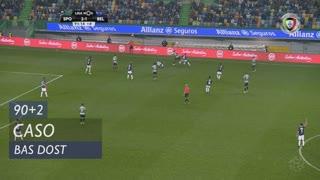 Sporting CP, Caso, Bas Dost aos 90'+2'