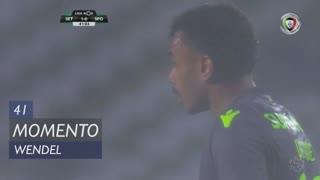 Sporting CP, Jogada, Wendel aos 41'