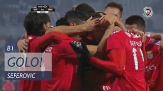 GOLO! SL Benfica, Seferovic aos 81', Vitória SC 0-1 SL Benfica