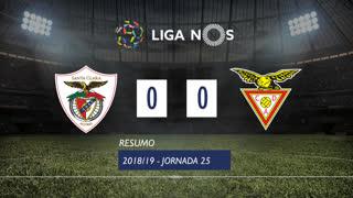 Liga NOS (25ªJ): Resumo Santa Clara 0-0 CD Aves