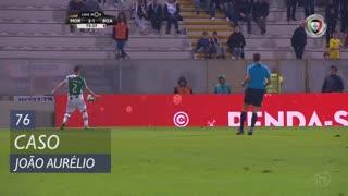 Moreirense FC, Caso, João Aurélio aos 76'