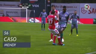 Vitória FC, Caso, Mendy aos 56'