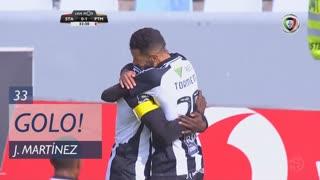 GOLO! Portimonense, Jackson Martínez aos 33', Santa Clara 0-1 Portimonense