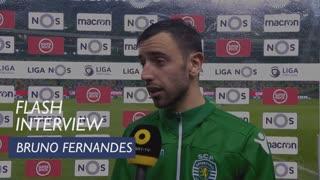 Liga (24ª): Flash Interview Bruno Fernandes