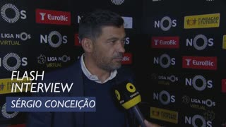 Liga (32ª): Flash Interview Sérgio Conceição