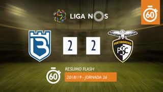 Liga NOS (26ªJ): Resumo Flash Belenenses 2-2 Portimonense