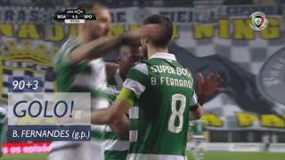 GOLO! Sporting CP, Bruno Fernandes aos 90'+3', Boavista FC 1-2 Sporting CP