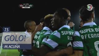 GOLO! Sporting CP, M. Acuña aos 75', Santa Clara 1-2 Sporting CP