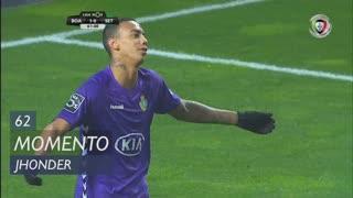 Vitória FC, Jogada, Jhonder aos 62'