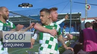 GOLO! Moreirense FC, Chiquinho aos 1', CD Feirense 0-1 Moreirense FC