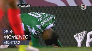 Sporting CP, Jogada, Montero aos 58'