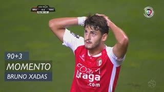 SC Braga, Jogada, Bruno Xadas aos 90'+3'