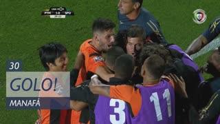 GOLO! Portimonense, Manafá aos 30', Portimonense 1-0 Sporting CP