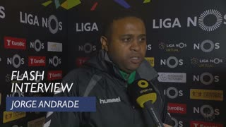 Liga (22ª): Flash Interview Jorge Andrade