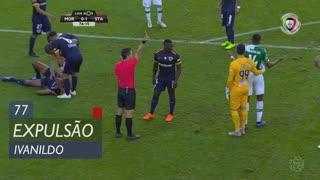 Moreirense FC, Expulsão, Ivanildo aos 77'