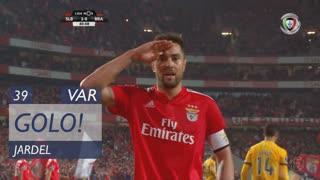 GOLO! SL Benfica, Jardel aos 39', SL Benfica 2-0 SC Braga