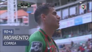 Marítimo M., Jogada, Correa aos 90'+6'