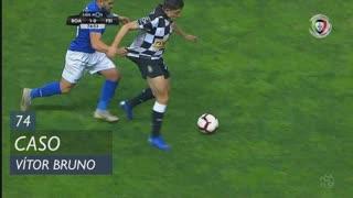 CD Feirense, Caso, Vítor Bruno aos 74'