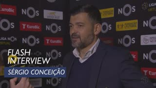 Liga (17ª): Flash interview Sérgio Conceição