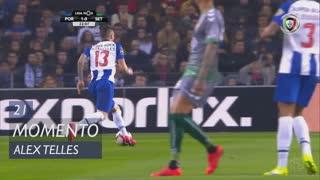 FC Porto, Jogada, Alex Telles aos 21'