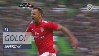 GOLO! SL Benfica, Seferovic aos 11', Sporting CP 0-1 SL Benfica