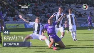 Vitória FC, Penálti, Jhonder aos 44'