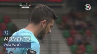 SC Braga, Jogada, Paulinho aos 72'