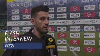 Liga (20ª): Flash interview Pizzi
