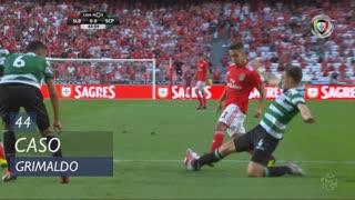 SL Benfica, Caso, Grimaldo aos 44'