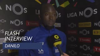 Liga (21ª): Flash Interview Danilo Pereira