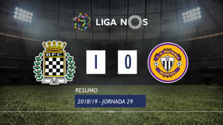 I Liga (29ªJ): Resumo Boavista FC 1-0 CD Nacional