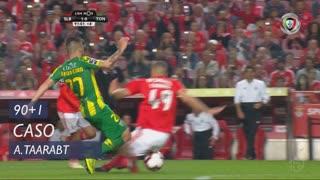 SL Benfica, Caso, A. Taarabt aos 90'+1'