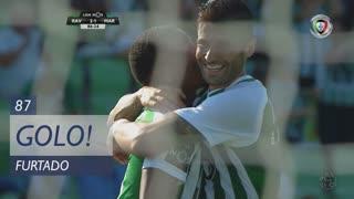 GOLO! Rio Ave FC, Furtado aos 87', Rio Ave FC 3-1 Marítimo M.
