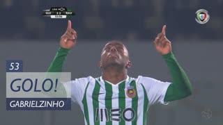 GOLO! Rio Ave FC, Gabrielzinho aos 53', Vitória SC 2-2 Rio Ave FC