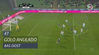 Sporting CP, Golo Anulado, Bas Dost aos 47'