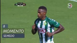 Vitória FC, Jogada, Semedo aos 8'