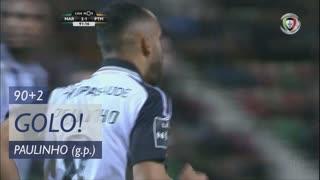 GOLO! Portimonense, Paulinho aos 90'+2', Marítimo M. 2-1 Portimonense