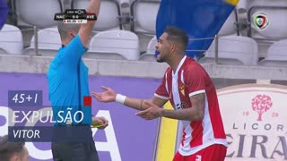 CD Aves, Expulsão, Vitor aos 45'+1'