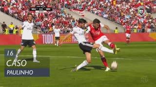 SC Braga, Caso, Paulinho aos 16'