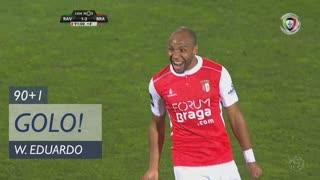 GOLO! SC Braga, Wilson Eduardo aos 90'+1', Rio Ave FC 1-2 SC Braga
