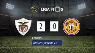 Liga NOS (23ªJ): Resumo Santa Clara 2-0 CD Nacional