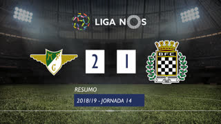 Liga NOS (14ªJ): Resumo Moreirense FC 2-1 Boavista FC